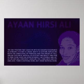 Ayaan Hirsi Ali | No Cognitive Dissonance Poster