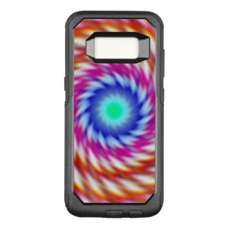 """""""Ayahuascan Animus"""" Original Psychedelic Fractal OtterBox Commuter Samsung Galaxy S8 Case"""