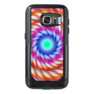 """Ayahuascan Animus"" Original Psychedelic Fractal OtterBox Samsung Galaxy S7 Case"
