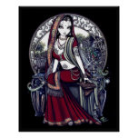 Ayanna Eastern Belly Dancer Fairy Poster