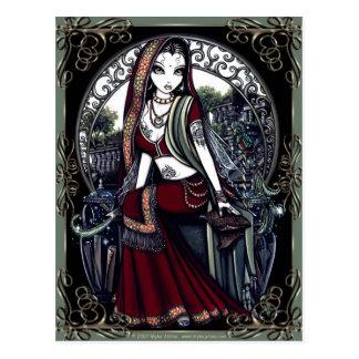 """Ayanna"" Secret Fairy Garden Post Card"