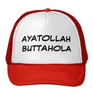 AYATOLLAH BUTTAHOLA TRUCKER HAT