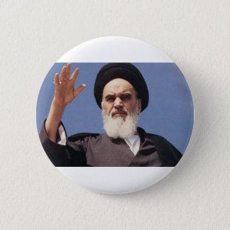 Ayatollah Khomeini Badge 2 Inch Round Button