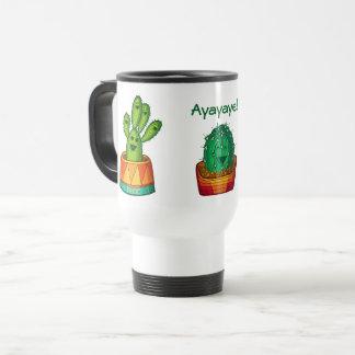 Ayayaye Cactus Travel Mug