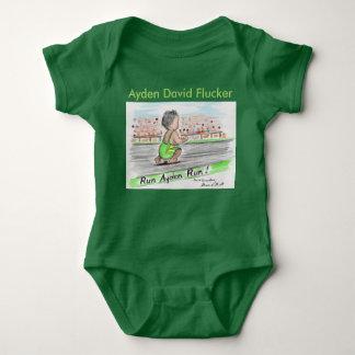 Ayden Green Onsie Baby Bodysuit