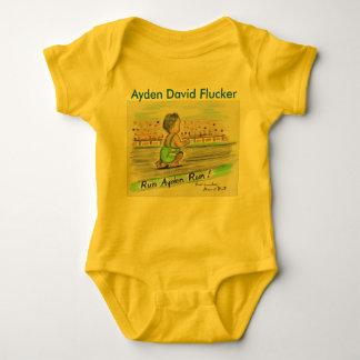 Ayden Yellow onsie Baby Bodysuit