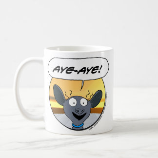 Aye-Aye! Basic White Mug