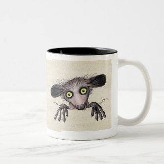 Aye-aye Lemur Two-Tone Coffee Mug