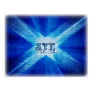 Aye Scotland.jpg Postcard
