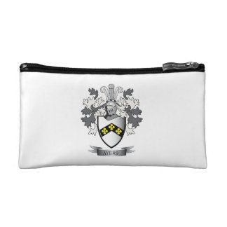 Ayers Family Crest Coat of Arms Cosmetic Bag