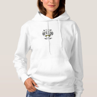 Ayers Family Crest Coat of Arms Hoodie