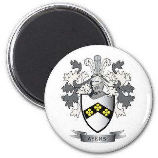 Ayers Family Crest Coat of Arms Magnet