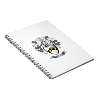 Ayers Family Crest Coat of Arms Notebook