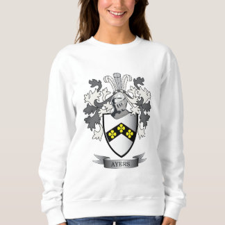 Ayers Family Crest Coat of Arms Sweatshirt