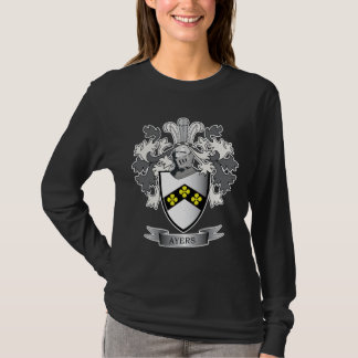 Ayers Family Crest Coat of Arms T-Shirt
