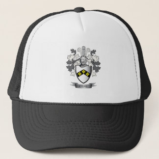 Ayers Family Crest Coat of Arms Trucker Hat