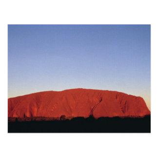 Ayers Rock Postcard