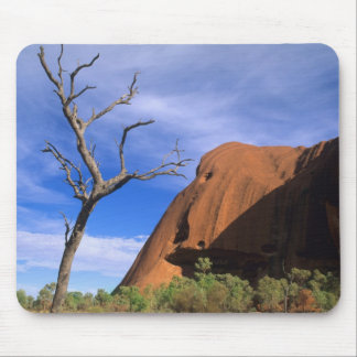 Ayers Rock Uluru in the Outback Australia Mouse Pads