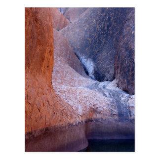 Ayers Rock, Uluru National Park, Australia Desert Postcard