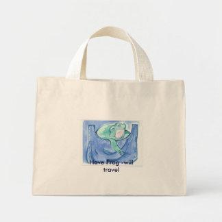 Ayez la grenouille - voyagera sacs en toile