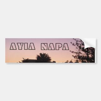 Ayia Napa Bumper Sticker