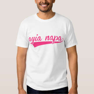 Ayia Napa Text 2 T-shirt