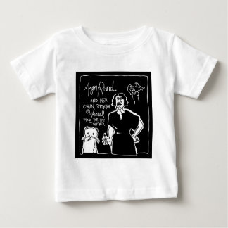 Ayn Rand and Her Chain Smokin' Weasel Baby T-Shirt