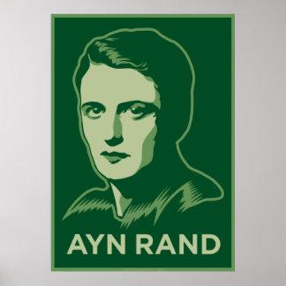 Ayn Rand Poster