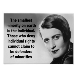Ayn Rand Quote Poster