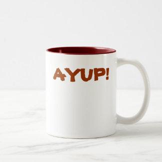 AYUP! Mug