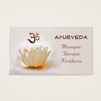 Ayurveda Business Card