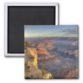 AZ, Arizona, Grand Canyon National Park, South 2 Square Magnet