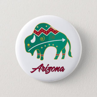 AZ Buffalo Clan 2 2 Inch Round Button