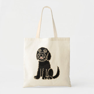 AZ- Cute Labradoodle Dog Bag