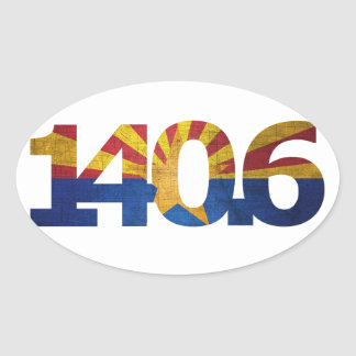 AZ Flag Long Distance Triathlon Sticker