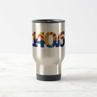 AZ FLAG LONG DISTANCE TRIATHLON TRAVEL MUG