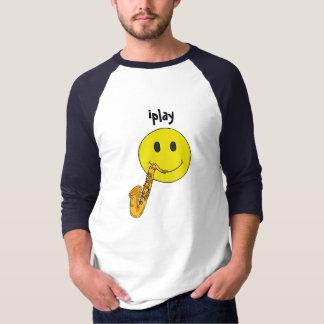 AZ- iplay Funny Face Saxophone Shirt