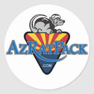 AZ RAT Pack Classic Round Sticker