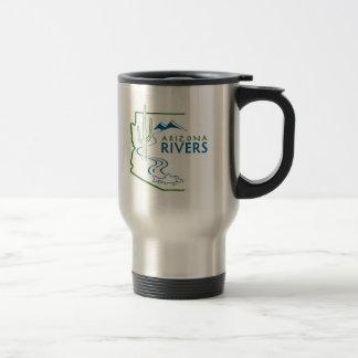 AZ River Logo Travel Mug