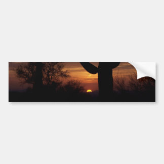 AZ sunset 1 Bumper Sticker