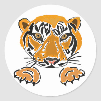 AZ- Tigers an Paws Stickers