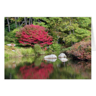 Azalea Garden Reflections Birthday Card