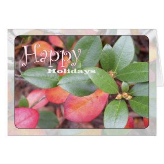 Azalea Holiday Card