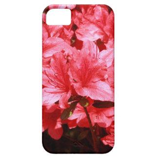 azalea red flowers iPhone 5 cases