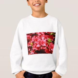 azalea red flowers sweatshirt