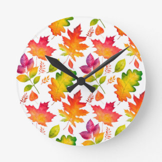 Azalea Turnball Designs Round Clock