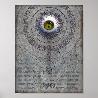 AZATHOTH 8.5x11 Poster
