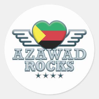 Azawad Rocks v2 Classic Round Sticker