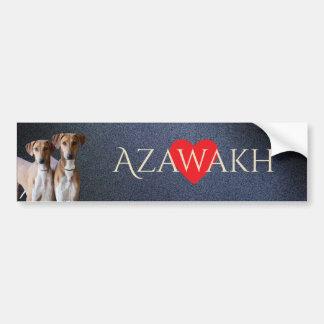 Azawakh Bumper Sticker