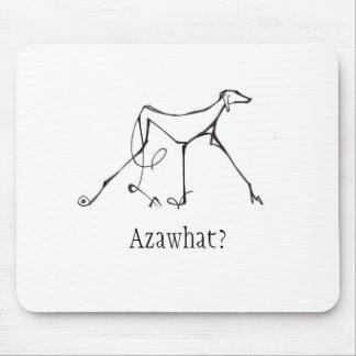 Azawakh Mousepad Design by David Moore